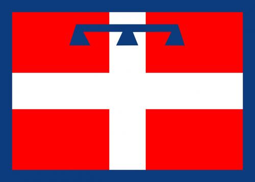 flag piedmont italian