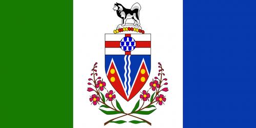 flag yukon canada