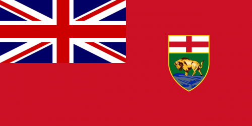 flag manitoba red ensign