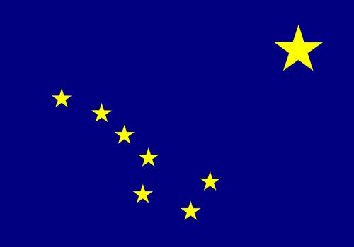 flag alaska state
