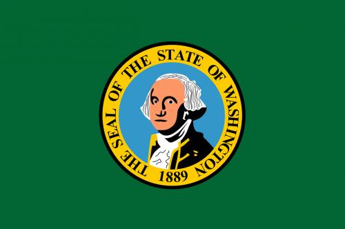 flag state washington