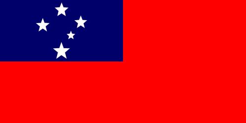 flag samoa oceania