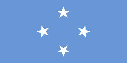 flag federated states of micronesia micronesia