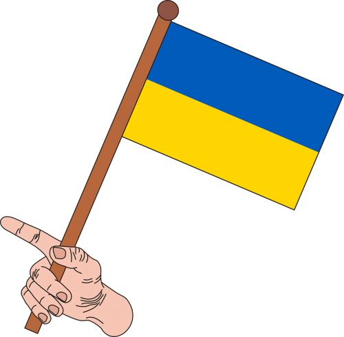flag ukraine the flag of ukraine