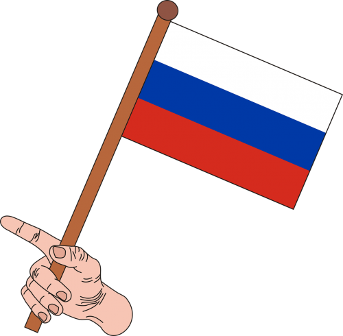 flag the flag of russia russia