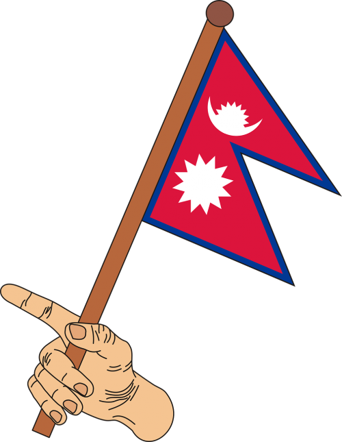 flag nepal the flag of nepal