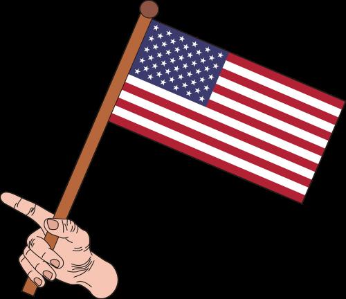 vėliava,usa,amerikietis,Jungtinės Valstijos,Jungtinių Amerikos Valstijų vėliava,Amerikos vėliava,amerikietiška vėliava,grafika,nacionalinės spalvos,simbolis,nėra fono,ranka,ranka,pirštai,nemokama vektorinė grafika