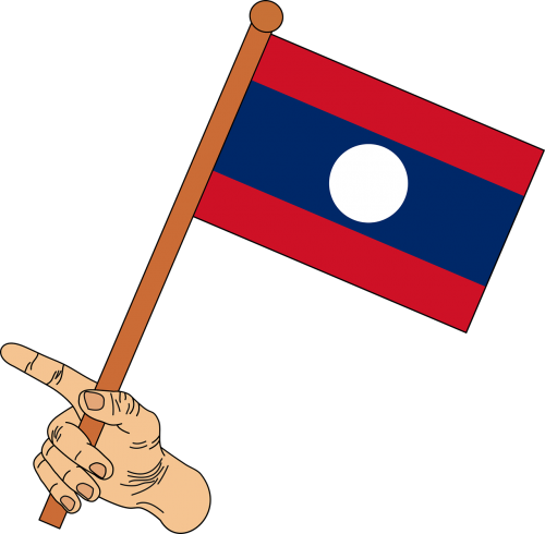 flag flag of laos laos