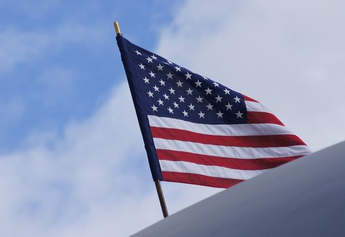 flag  sky  patriotism