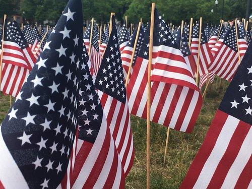 flag  usa  memorial day