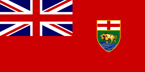 flag manitoba ensign