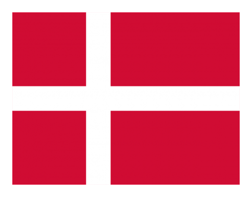 flag denmark red