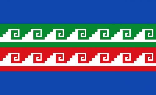 flag oaxaca mexico