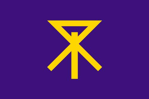 flag osaka kansai region