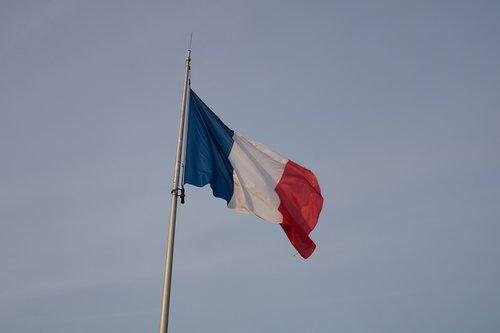 flag  france  paris