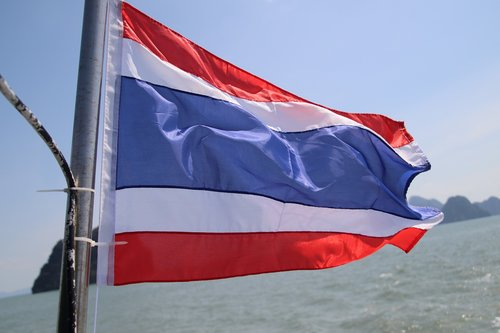 flag  thailand  asia