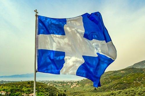 flag  greek flag  greece