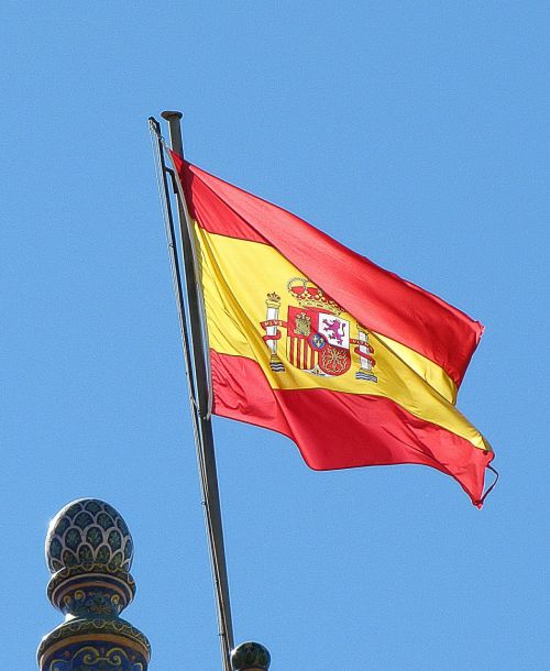 flag national spain