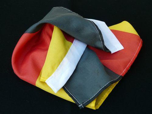 flag germany black