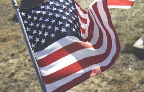 flag banner usa