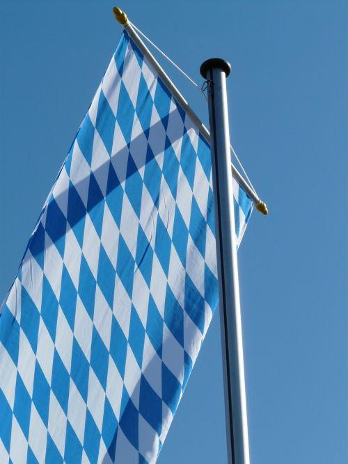 flag bavaria blow