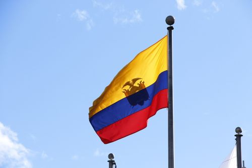 flag ecuador home