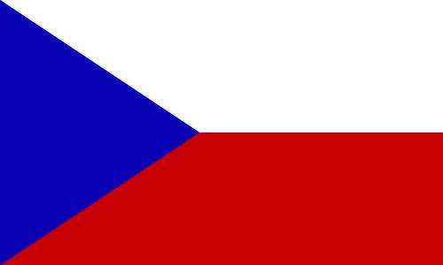 flag czech republic europe