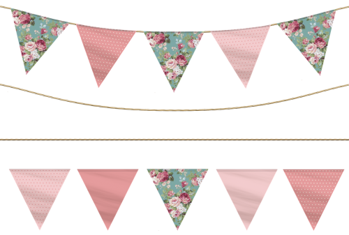 flag bunting party banner pennant garland