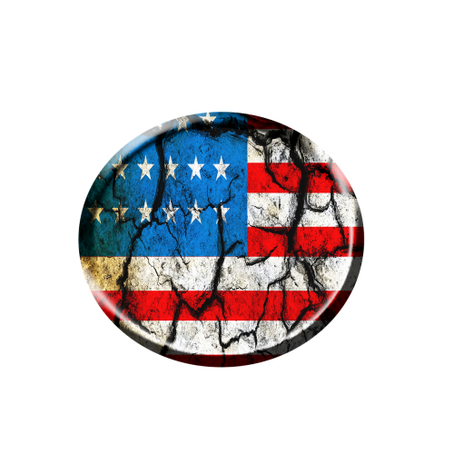 flag of contract trouble circle