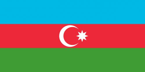 flag of azerbaijan national flag official