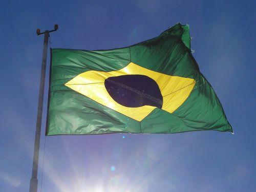 flag of brazil mast banner
