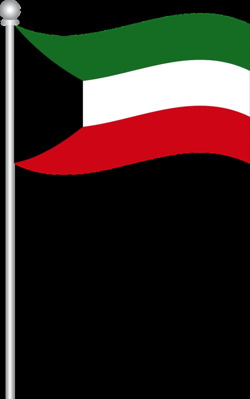 flag of kuwait flag kuwait