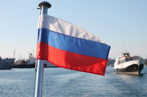 flag of russia russia on the sea the russian navy