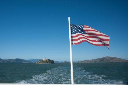 Flag Over San Francisco