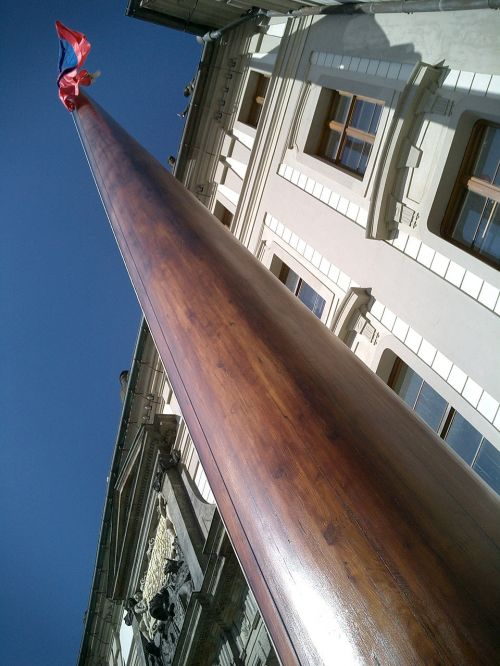 flag pole wooden flag pole flag