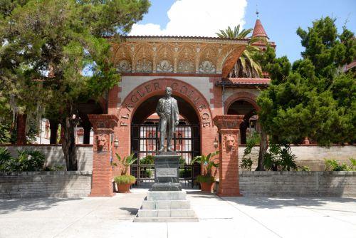 Flagler College Entrance