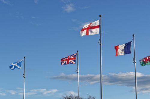 flags union jack british