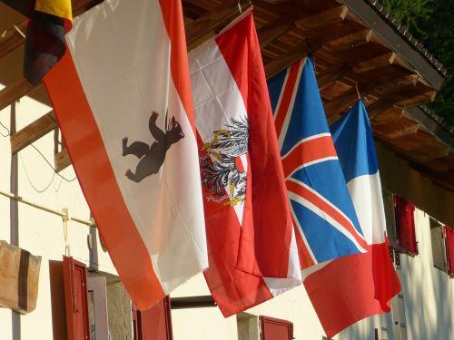 flags international austria