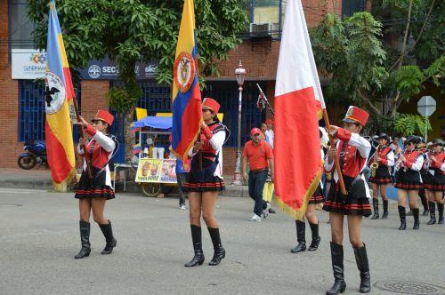 flags ricaurte colombia