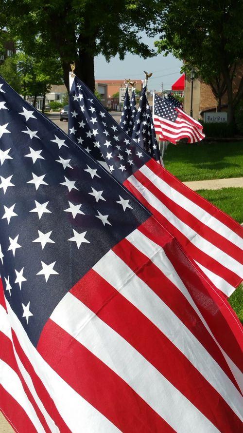 vėliavos,gatvė,amerikietis