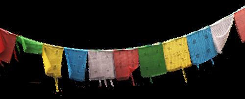 flags prayer flags buddhism