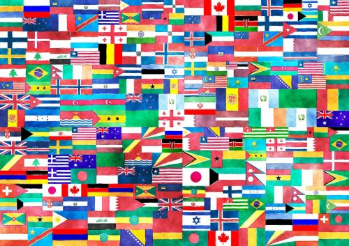 flags country states of america