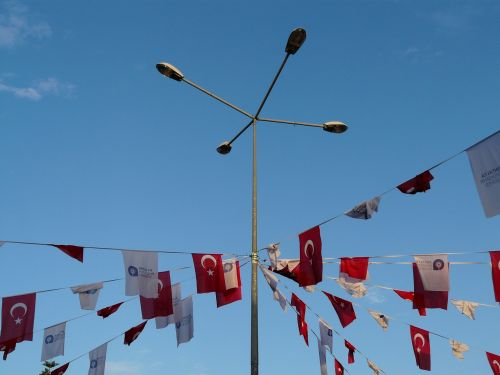 flags pennant turkish
