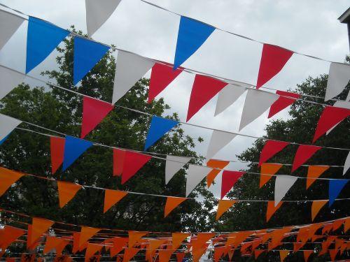vėliavos,vakarėlis,holland