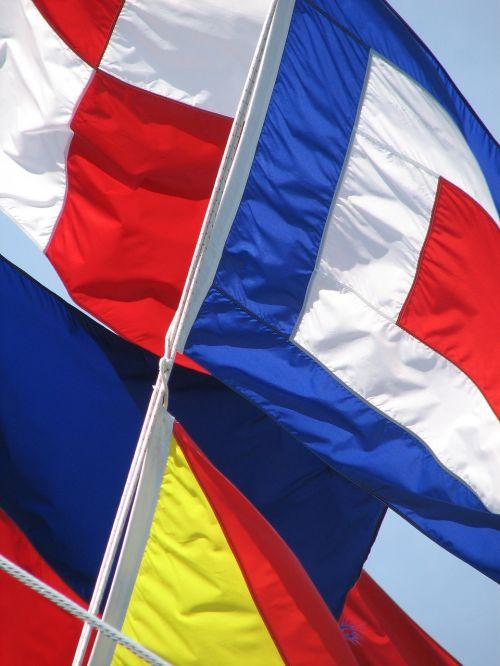 flags nautical flags nautical