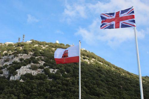 flags england gibraltar