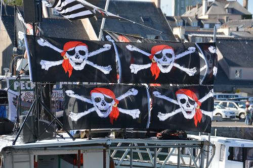 flags pirates pennants