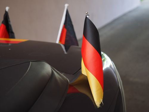 flags and pennants germany colors flag