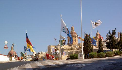 Flags In Malta
