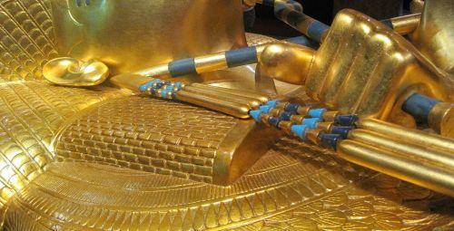 Flail On Tutankhamun's Coffin